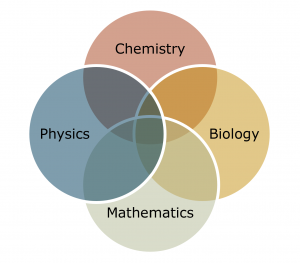 A Venn-diagram showing the different sciences