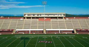 Warren McGuirk Alumni Stadium at the University of Massachusetts Amherst.